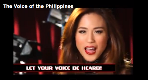 Post image for The Voice of the Philippines